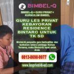 GURU LES PRIVAT KEBAYORAN RESIDENCE BINTARO 081386989977